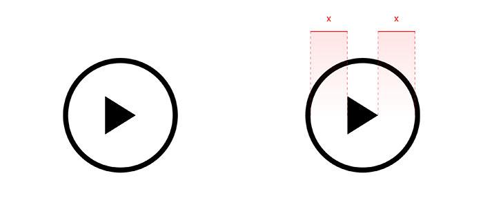 Выравнивание иконки