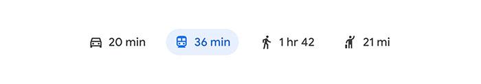 Читабельность иконок в Google Maps