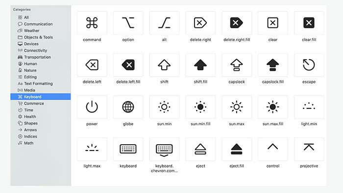 Иконки Apple