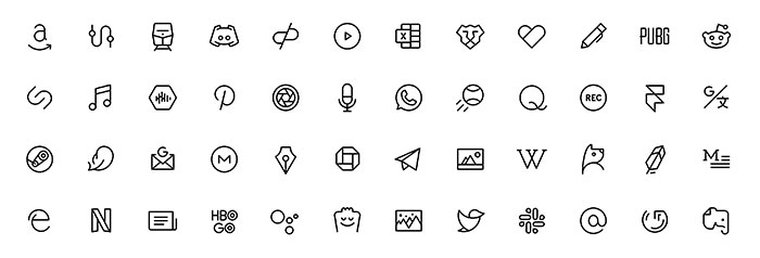 Иконки Phosphor